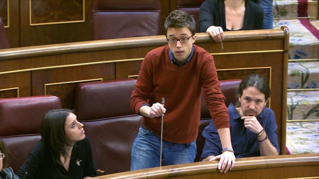 """Zasca de Errejón a Rivera sobre la financiación de Podemos: """"Que acudan a los tribunales"""""""