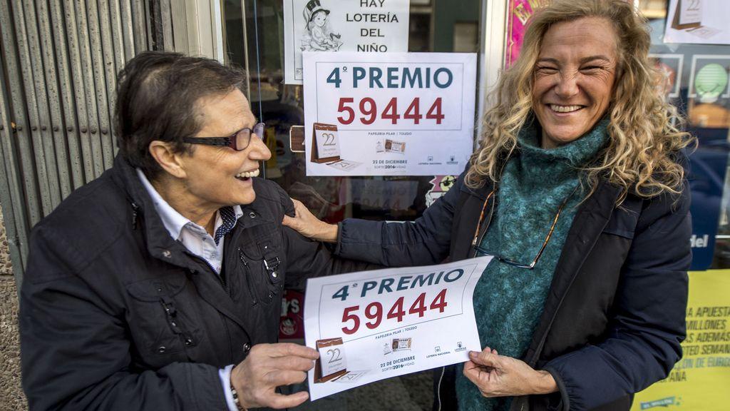 Pilar, en Toledo, reparte suerte por tercer año consecutivo