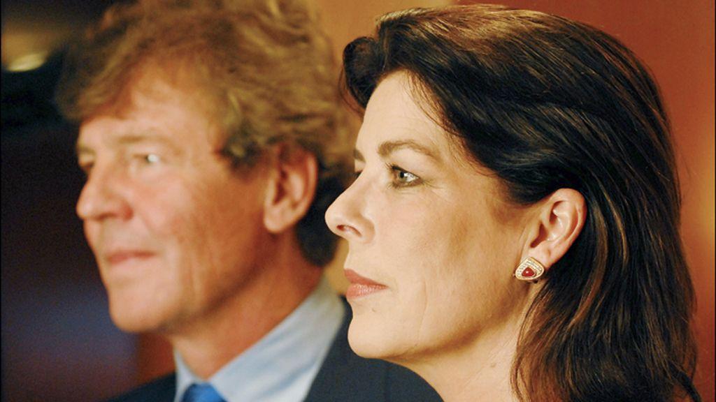 La princesa Carolina de Mónaco y su marido, Ernesto de Hannover