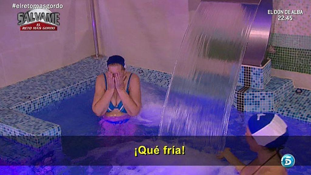 Carmen Bazán y Melu disfrutan del agua (y de las peleas)