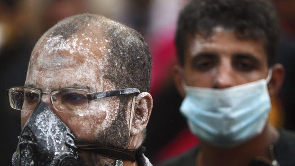 El ingenio de los manifestantes de la plaza Tahrir