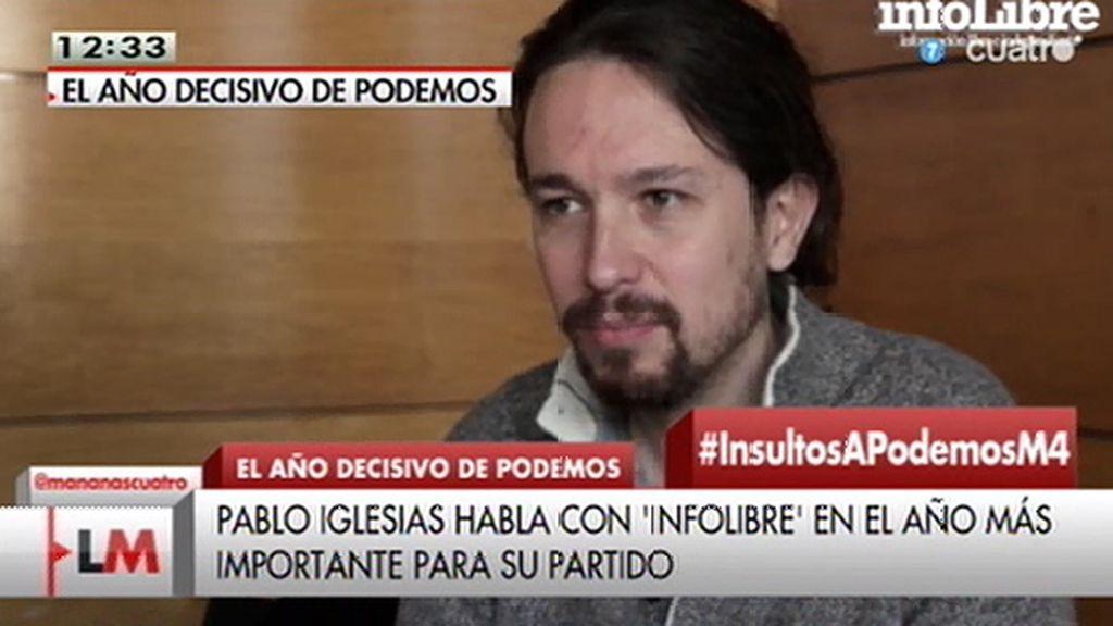"""Pablo Iglesias, sobre Rafael Hernando: """"Parece que hubiéramos elegido nosotros al portavoz del PP"""""""
