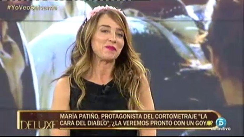 EXCLUSIVA: Maria Patiño cumple su sueño de ser actriz con 'La cara del diablo'