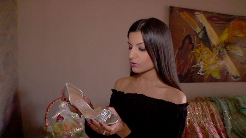Sumitra tenía claro que quería unos zapatos de Manolo Blahnik para su boda