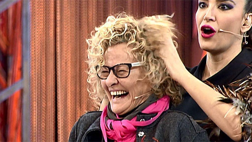 """Cristina sabe cómo sacarle partido a los rizos de Gracia: """"¡Cómo me gusta tu pelo!"""""""