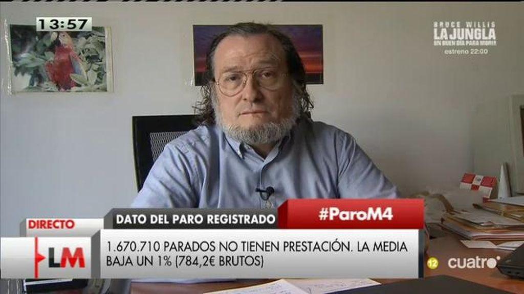 """Niño Becerra: """"El paro estructural va a más"""""""