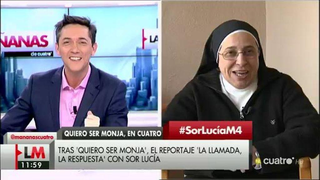 Tras 'Quiero ser monja', el reportaje 'La llamada, la respuesta', con Sor Lucía Caram