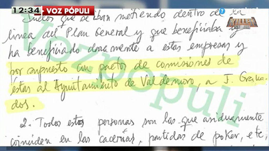 Aguirre ignoró en 2008 un informe en el que se denunciaba la trama de Granados, según publica Vozpopuli.com