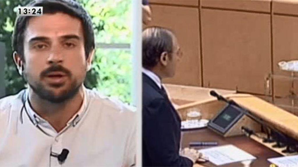 Ramón Espinar renuncia a su sueldo de 9.000 euros por su cargo como senador