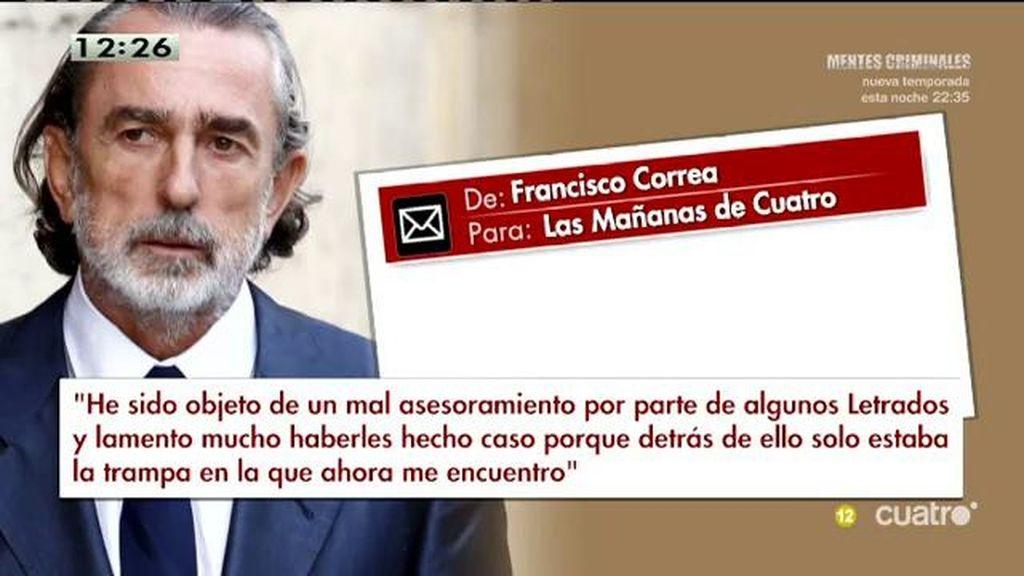 """Correa responde: """"Jamás he redactado ni entregado ninguna confesión propia a la Fiscalía Anticorrupción"""""""