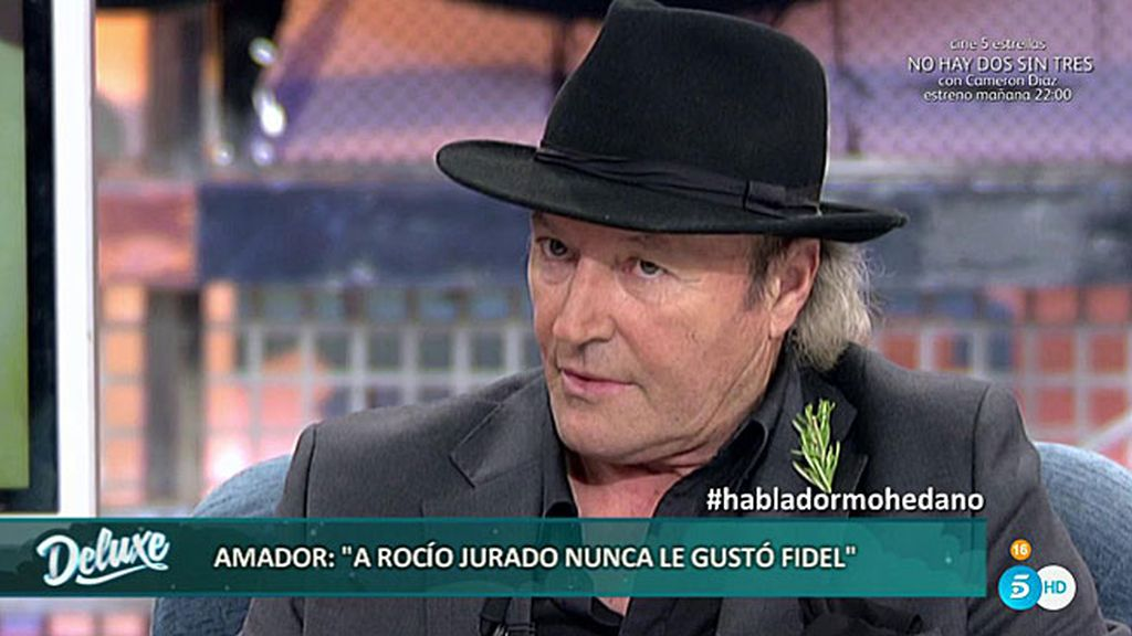 """Amador Mohedano: """"Mi hermana Rocío desconfiaba de Fidel, me pidió que quitara la caja fuerte de su alcance"""""""