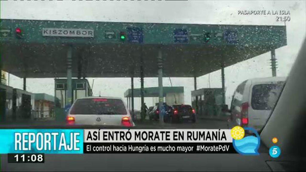 Los controles para salir de Rumanía y entrar en Hungría son mayores