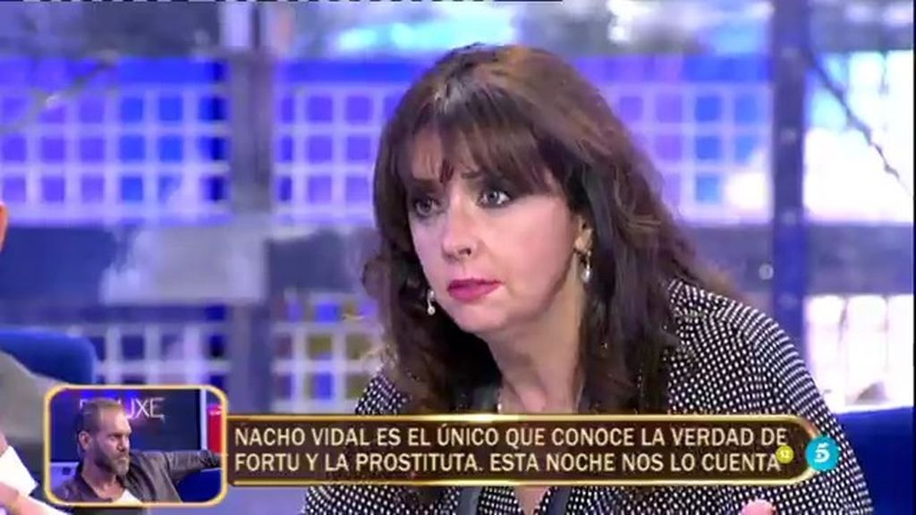 """María Luisa: """"Me he peleado y se me ha ido la boca con alguna novia de mi hijo"""""""