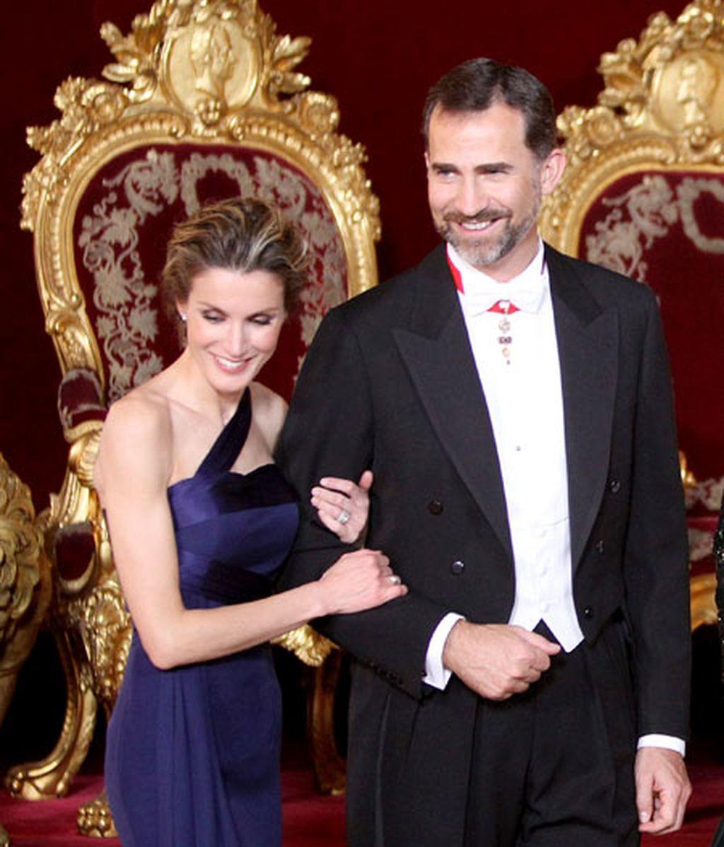 Noche de gala en el Palacio Real