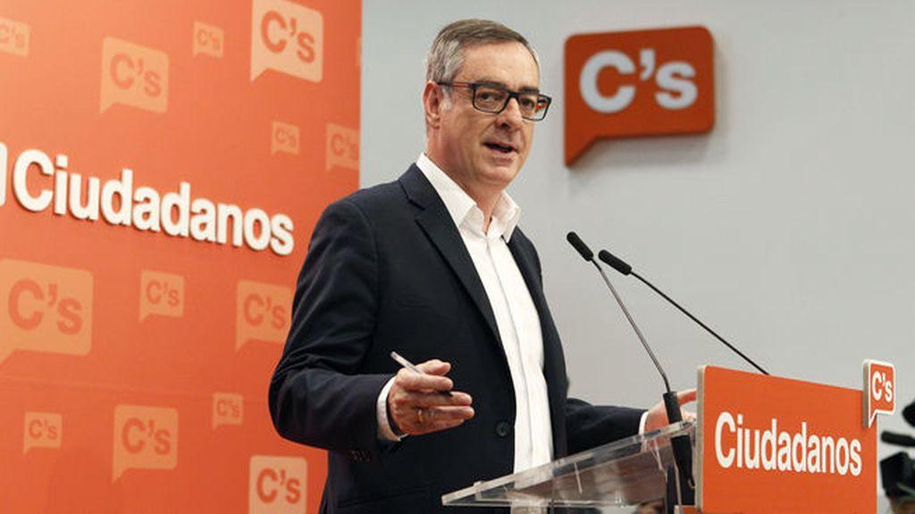 """Villegas: """"C's es prudente a la hora de valorar las primeras encuestas"""""""