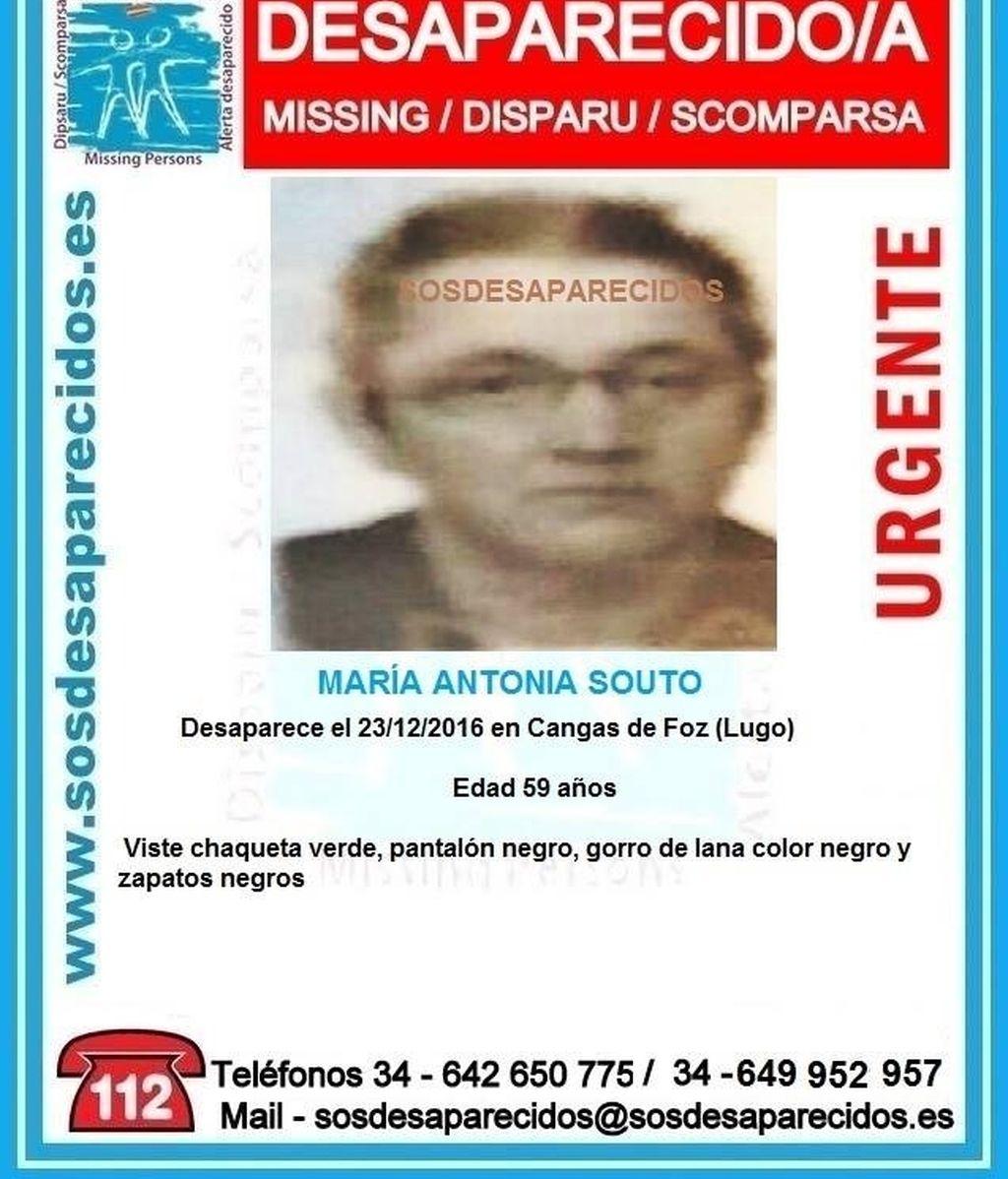 Desaparecida en Lugo