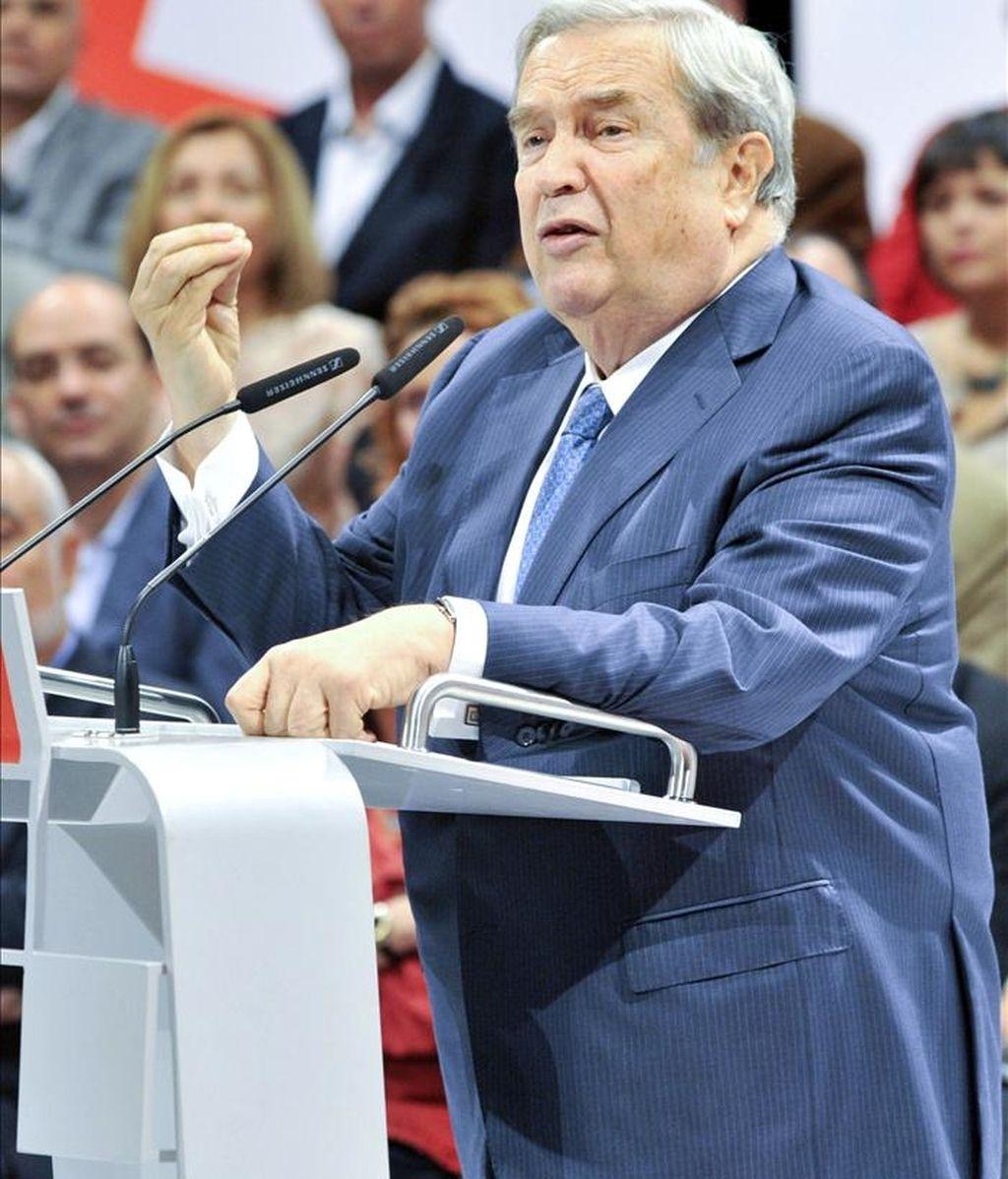 El candidato del PSOE al Ayuntamiento de Las Palmas de Gran Canaria, Jerónimo Saavedra. EFE/Archivo