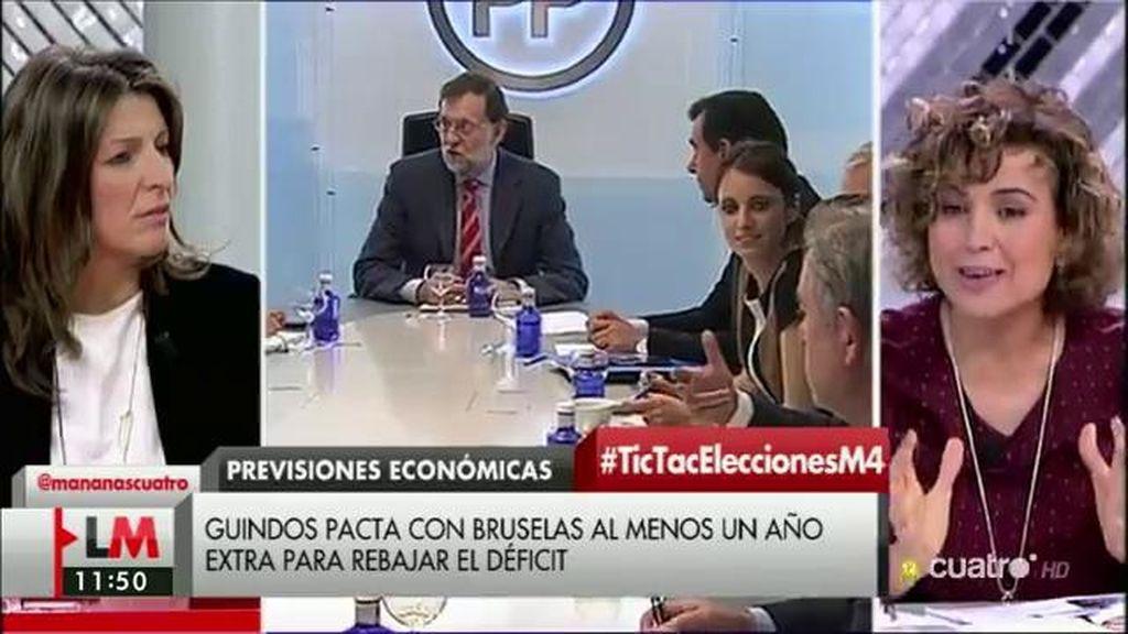 """Dolors Montserrat (PP): """"Ningún ministro socialista compareció en funciones"""""""