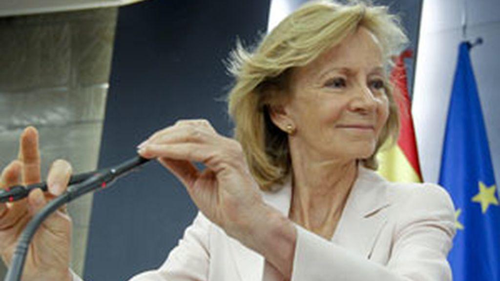La ministra de Economía, Elena Salgado. Foto: EFE/Archivo