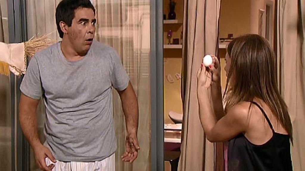 Araceli vuelve después de su aventura con el brasileño