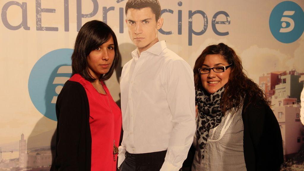 Ruth Morales y Lidia Ruiz