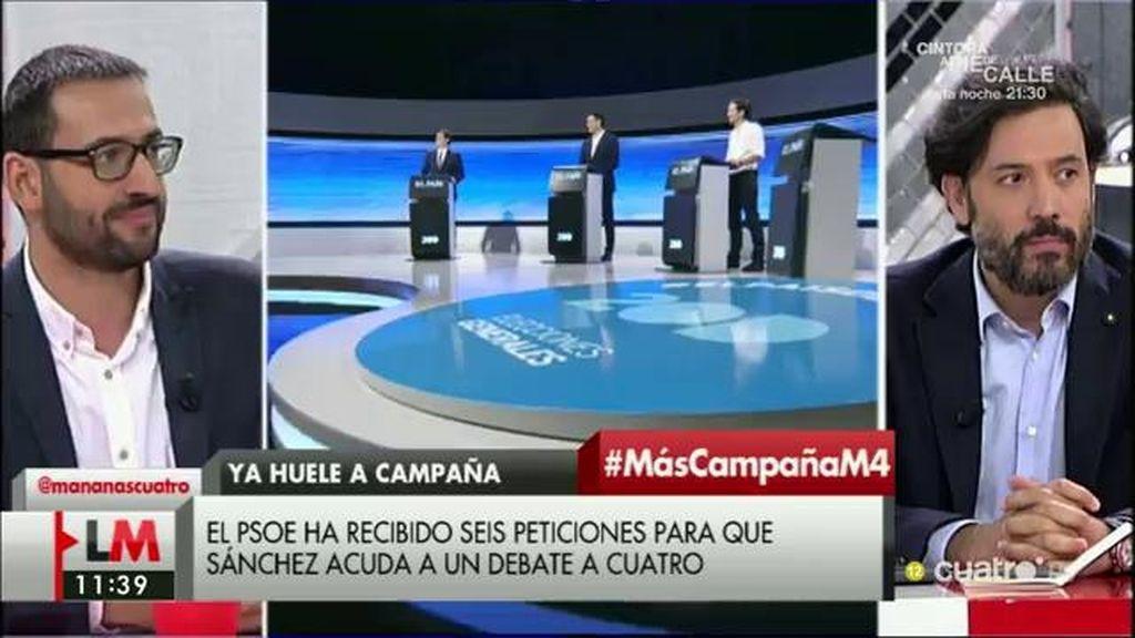 """Guillermo Mariscal (PP): """"No caricaturicéis a Rajoy como alguien que no trabaja porque no se ajusta a la realidad"""""""