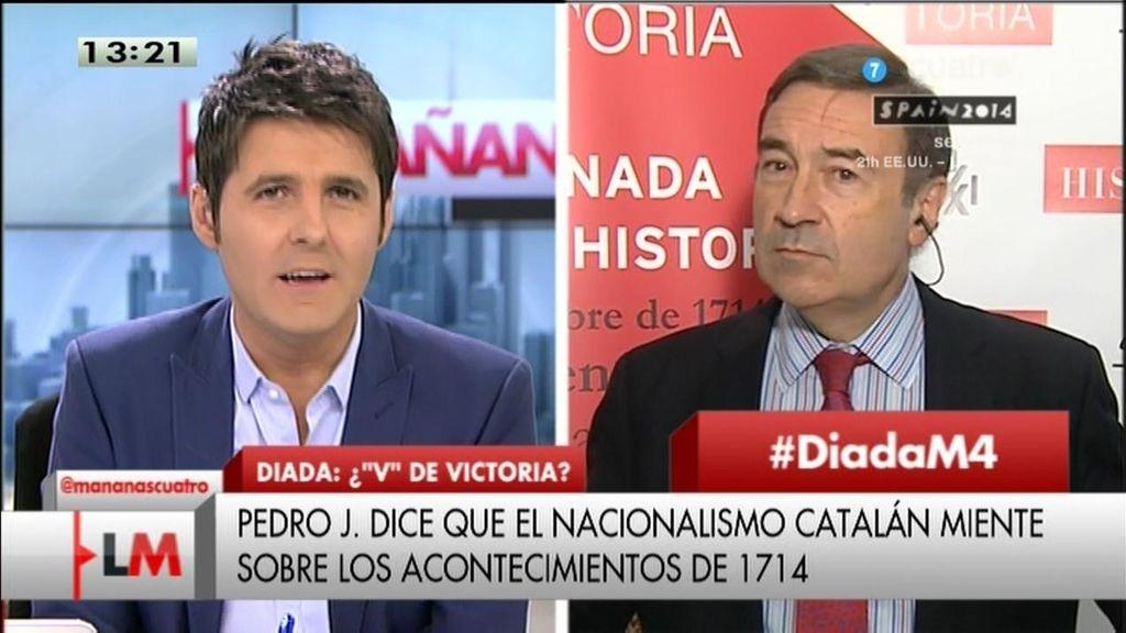 """Pedro J.: """"Podemos no es el camino"""""""