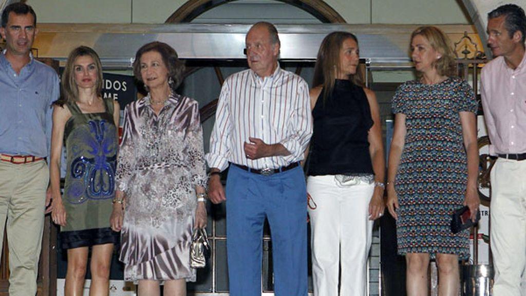 La Familia Real al completo disfruta de sus vacaciones