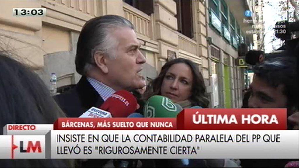 """Bárcenas: """"La caja 'B' es la caja del PP, no son los papeles de Bárcenas, son los del PP"""""""