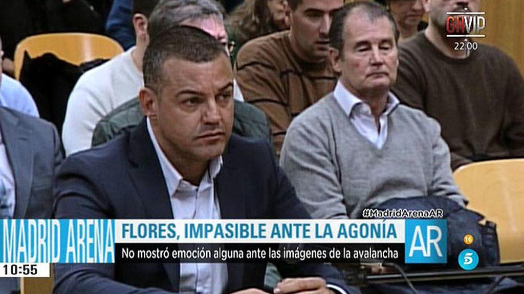 Dubitativo y nervioso: así se mostró Miguel Ángel Flores durante su declaración