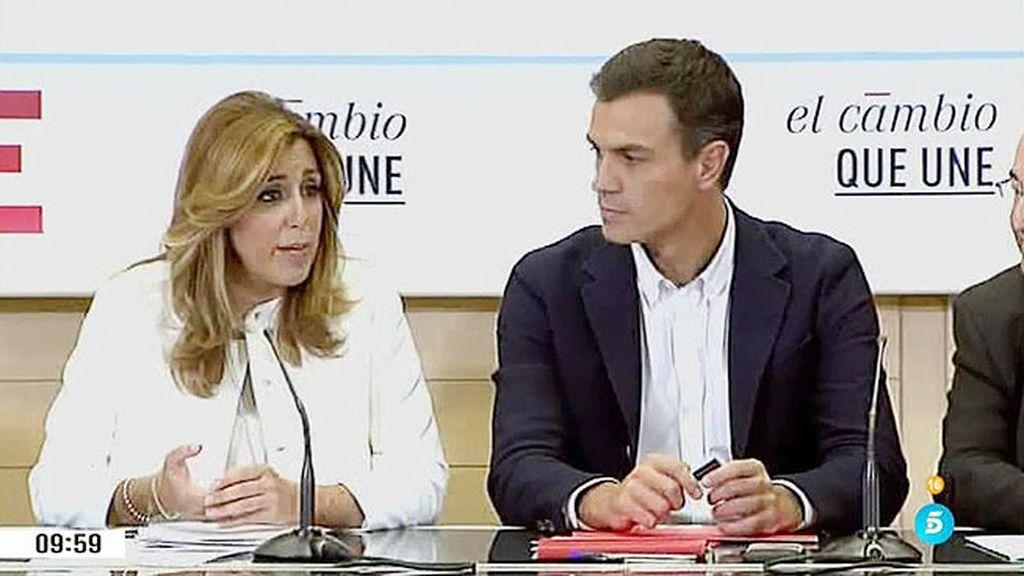 ¿Habrá pugna en el PSOE entre Sánchez y Díaz por el control del partido?