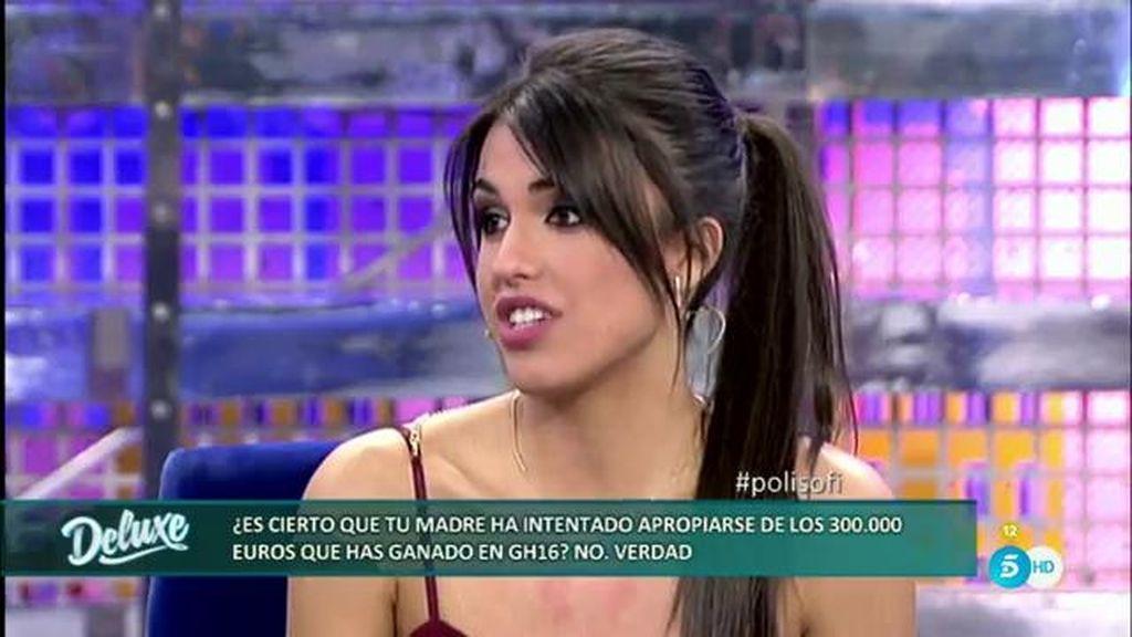 Maite no ha intentado apropiarse de los 300.000 euros del premio de Sofía