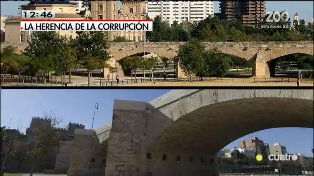 La UCO investiga presuntos sobornos en la reforma de los monumentos de Valencia