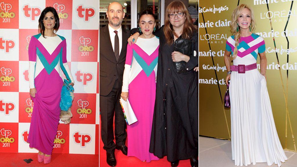 El vestido simétrico de David Delfín que cautiva a las famosas españolas