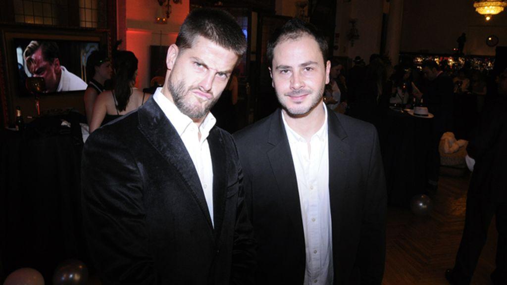 Luis Fernández acudió con su hermano Santi