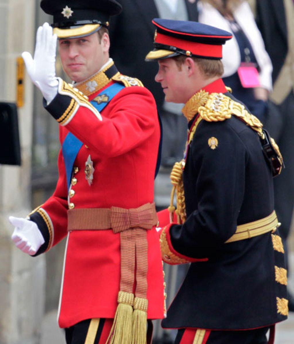 Un día feliz para el príncipe William, duque de Cambridge