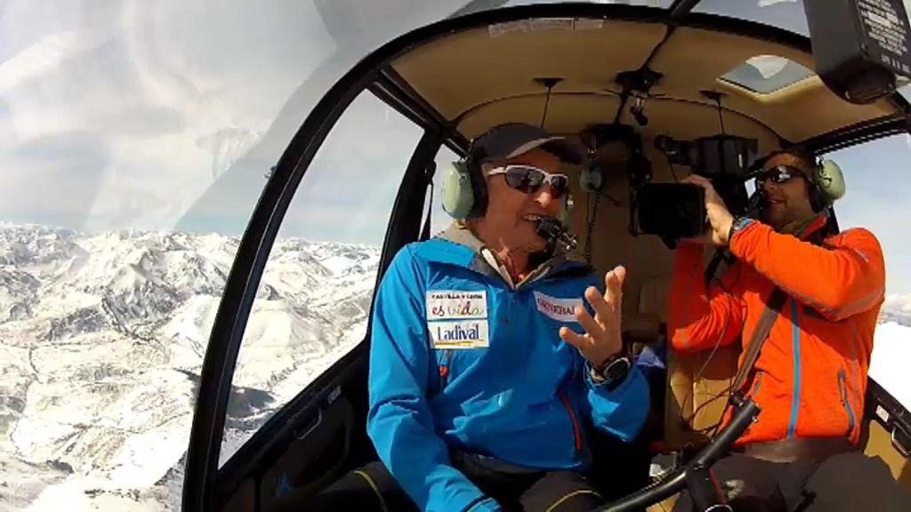 Cordillera Cantábrica, hielo vertical