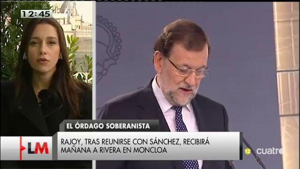 """Inés Arrimadas: """"Queremos sumar esfuerzos con las fuerzas democráticas, pero creo que cuantos más, mejor"""""""