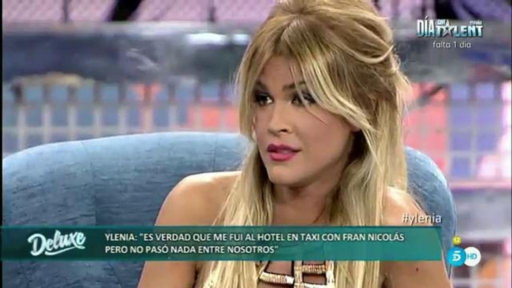 """Ylenia, de Fran Nicolás: """"Me llevó a un hotel, pero no pasó nada entre nosotros"""""""