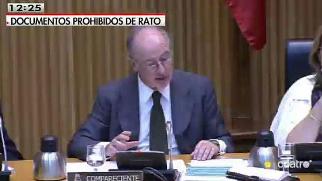 El juez prohíbe la utilización de cuatro archivadores con documentos de Rato