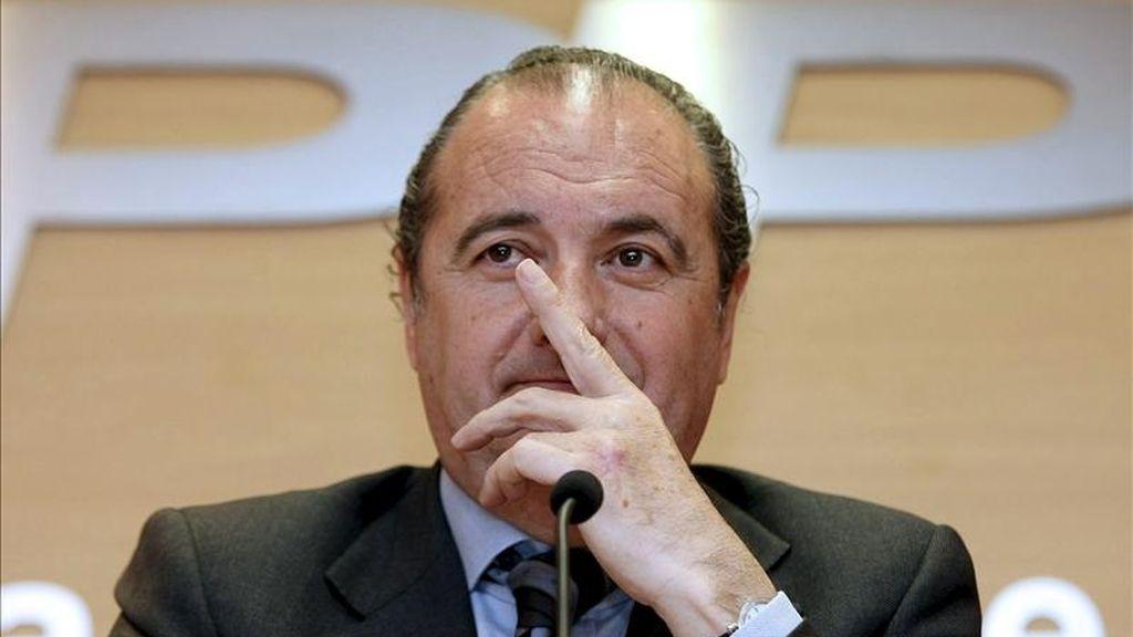 El presidente del PP de Alicante, José Joaquín Ripoll. EFE/Archivo
