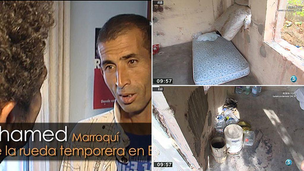 Muchos temporeros inmigrantes malviven en Valdepeñas durante la vendimia