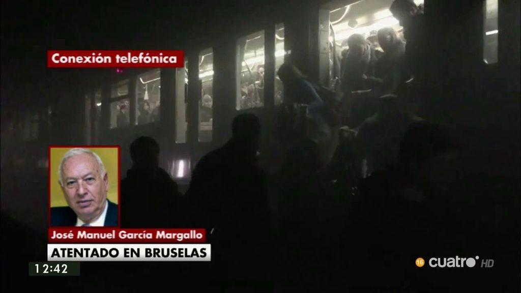 """García Margallo: """"El desafío terrorista es uno de los mayores desafíos a los que nos vamos a tener que enfrentar"""""""