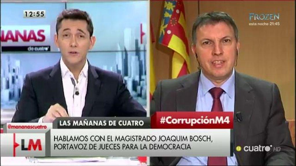 """Joaquim Bosch: """"Ha sido la peor legislatura de la democracia en temas de justicia"""""""