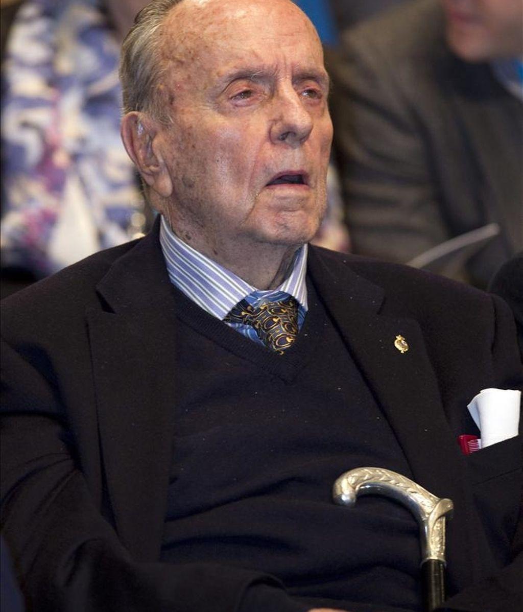 El presidente fundador del PP, Manuel Fraga. EFE/Archivo