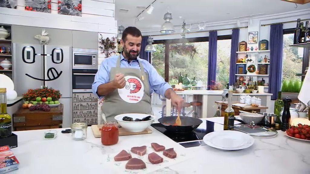 David de jorge cocina at n con mejillones tigre for La cocina de david de jorge