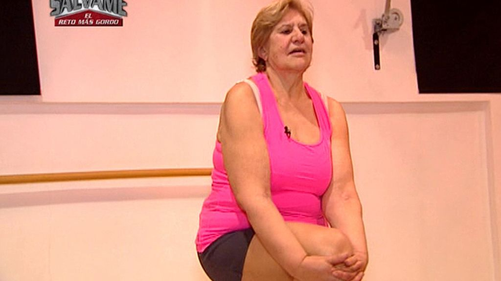 La entrenadora ha felicitado a Carmen por su espíritu de superación
