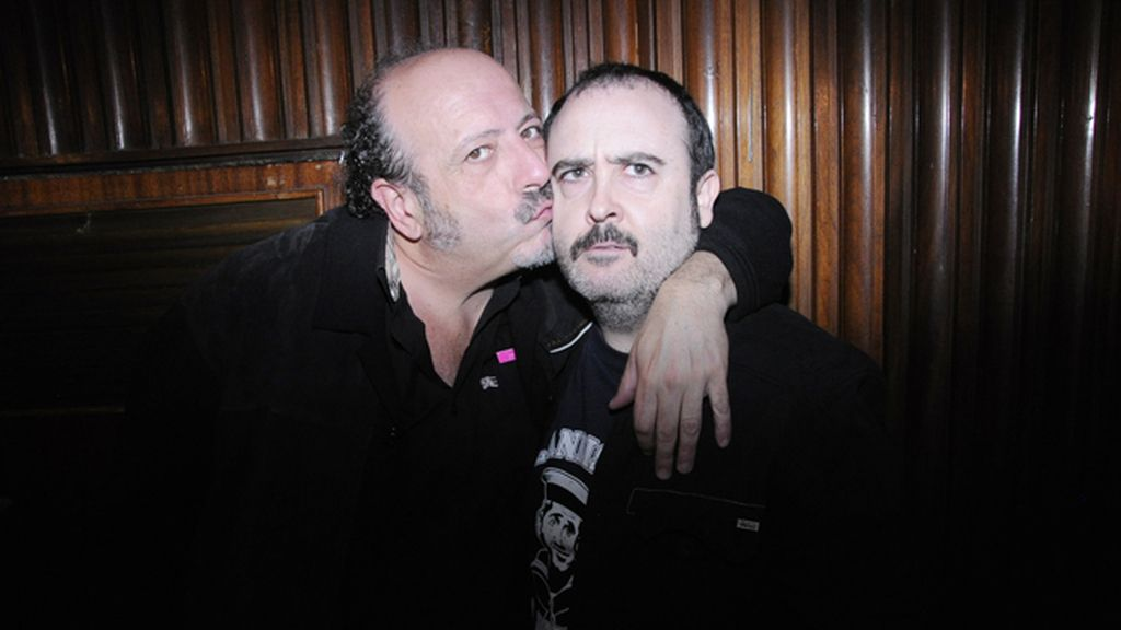 Los actores Manuel Tallafé y Carlos Areces