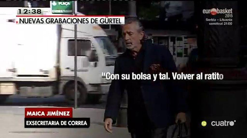 En exclusiva, la grabación de la exsecretaria de Correa destapando la trama