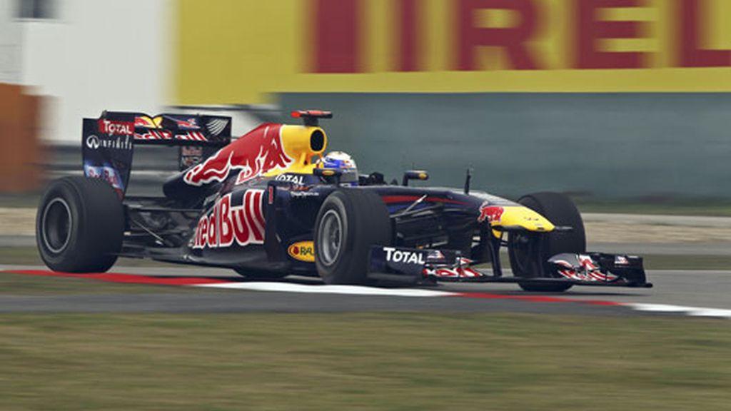 Vettel ha vuelto a marcar el mejor tiempo